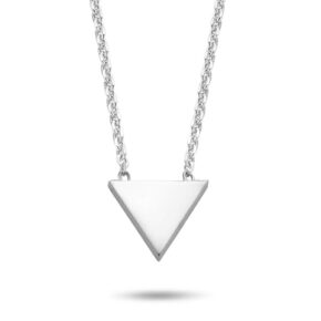 Halskette Dreieck Silber