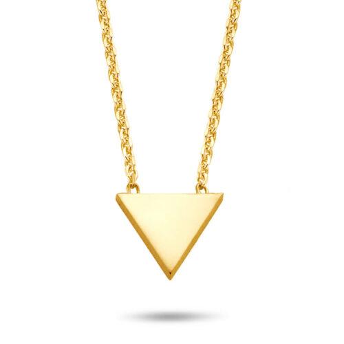 Halskette Dreieck gold