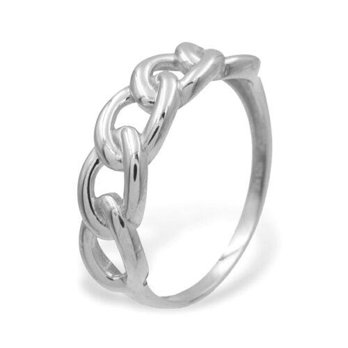 Kettenring Silber