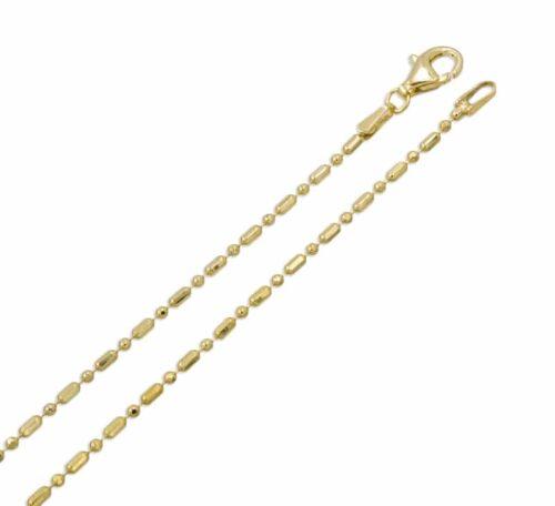 Halskette Kugel Fass Gold diamantiert
