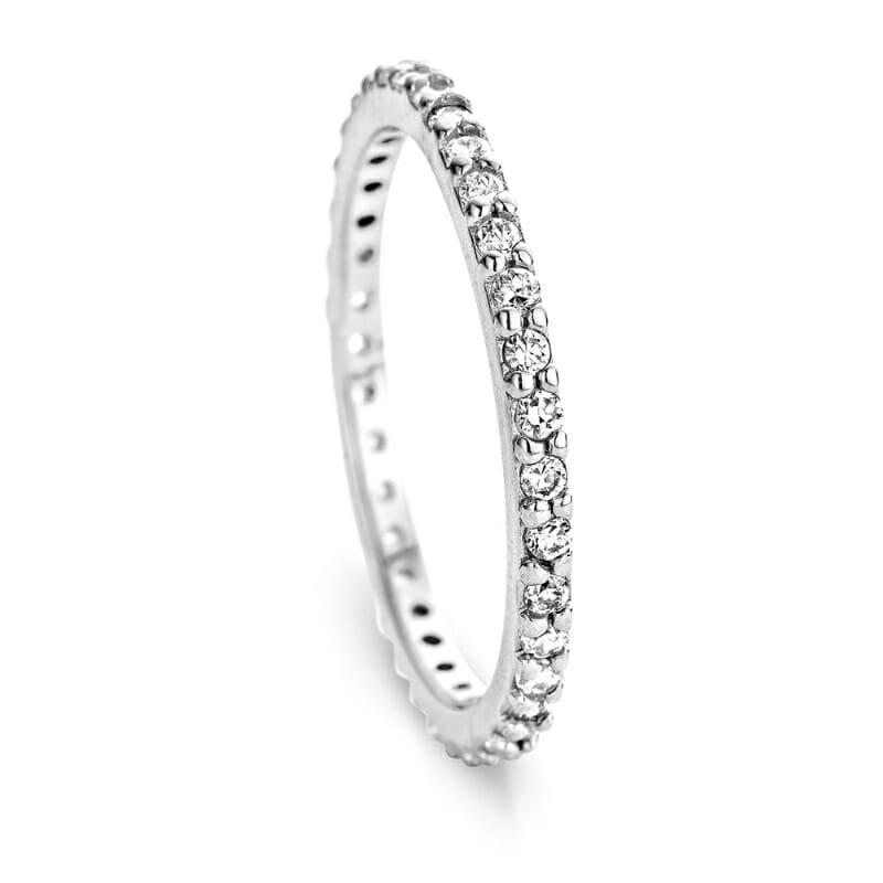 memory ring Silber