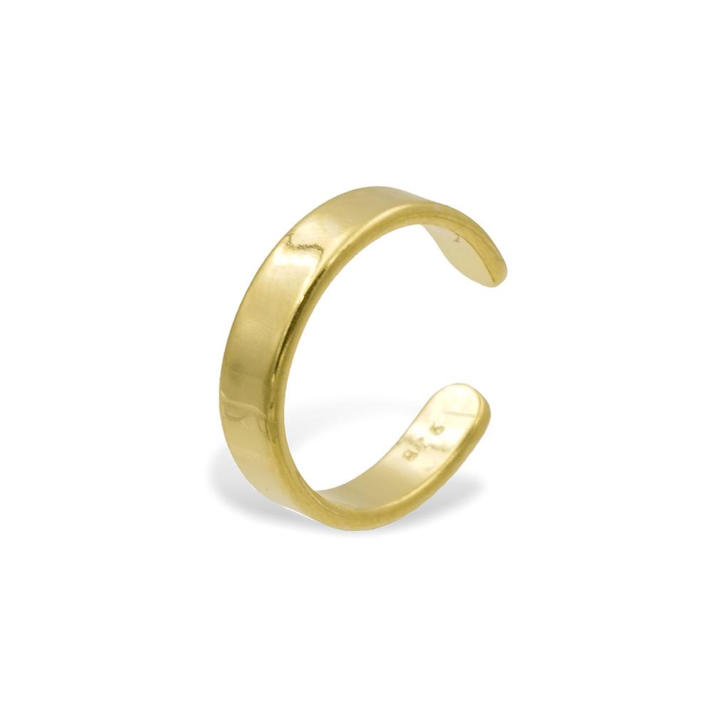 Rosenkuss Earcuff Celan gold