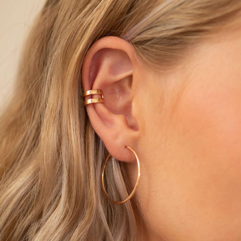 Ear Cuff rosé