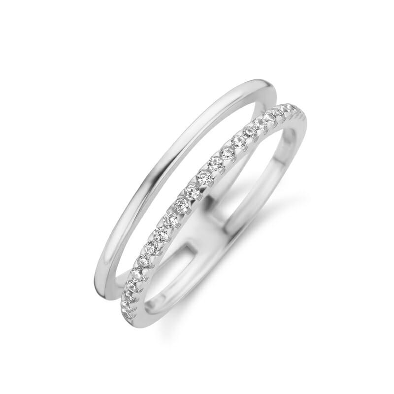 Layering Ring Silber