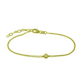 Armkette mit Zirkonia Gold