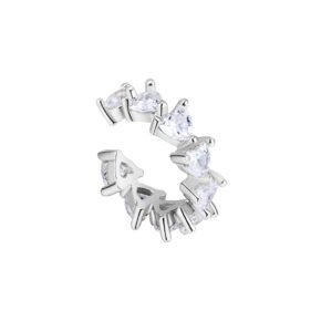 Icrush lots of love ear cuff Silber