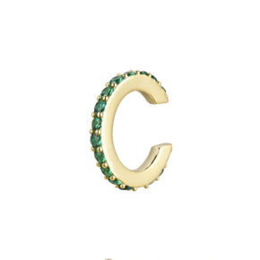 Ear Cuff Point Green