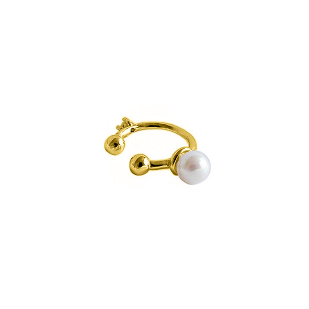 Ear Cuff Perle Gold