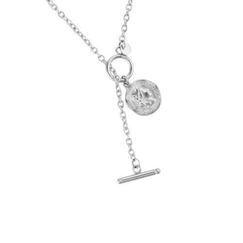 Coin Halskette Silber