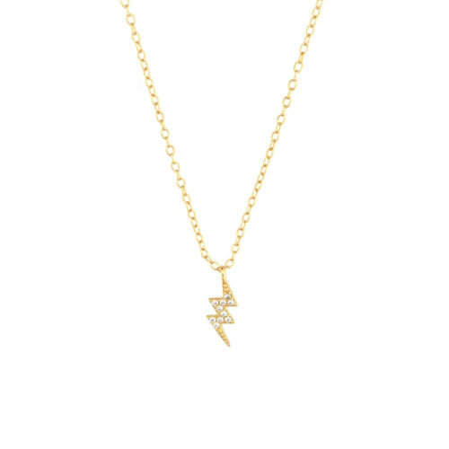 Blitz Halskette gold