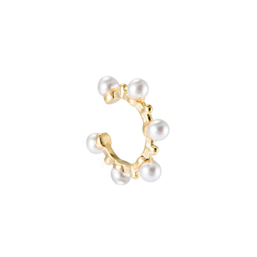 Ear Cuff mit Perlen