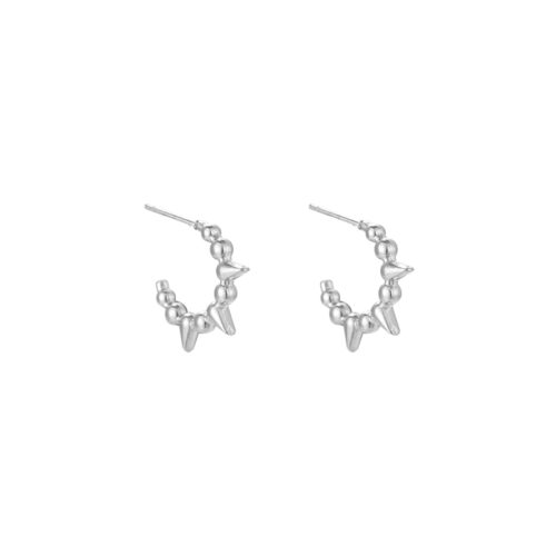 Ohrring Spikes Silber