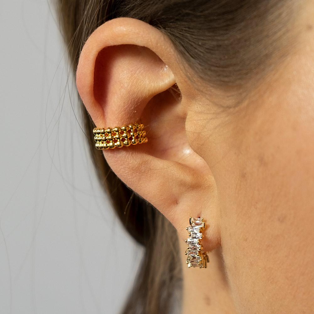 Ear Cuff Gold Joy