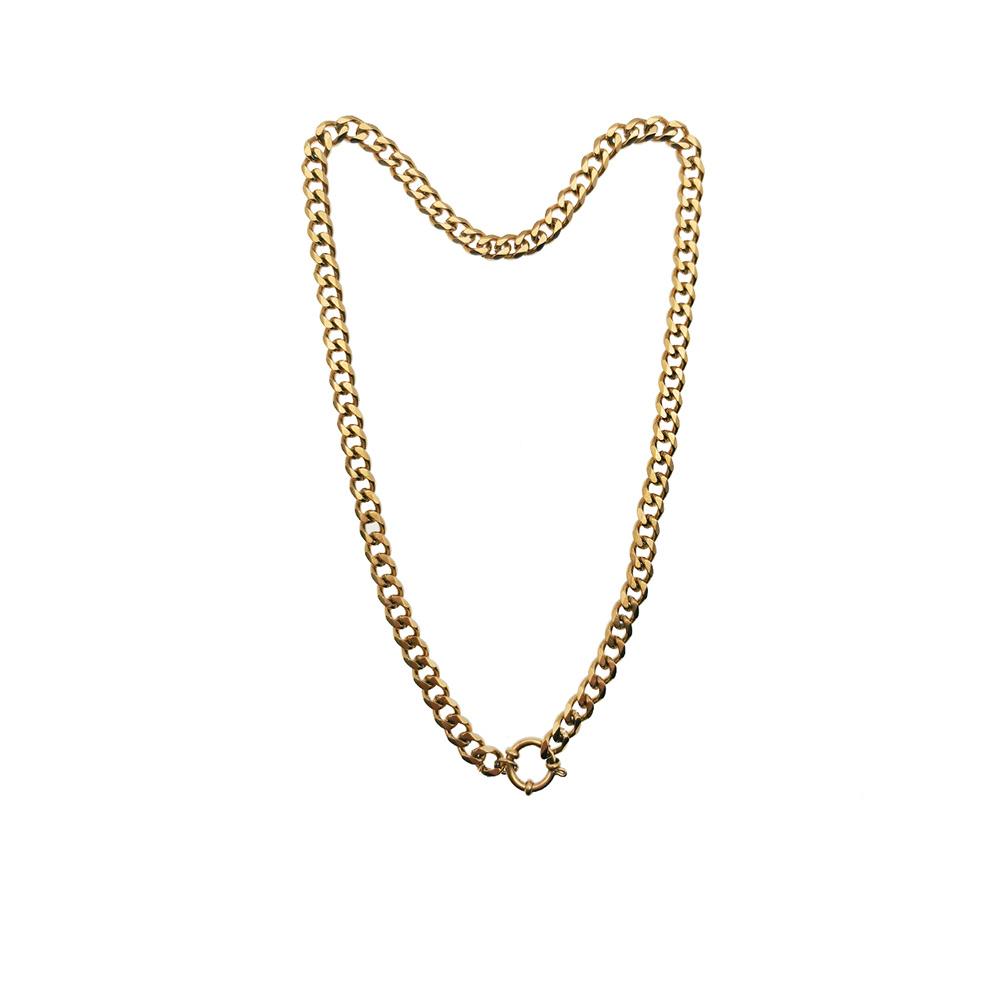 Big Chain Halskette Gold