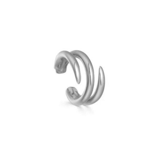 Ear Cuff Lines Silber