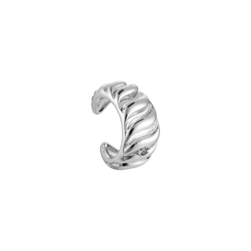 Earcuff Wave Silber Ohrclipser