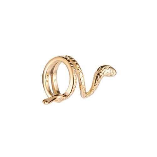 Earcuff Ohrclips Snake Schlange Gold
